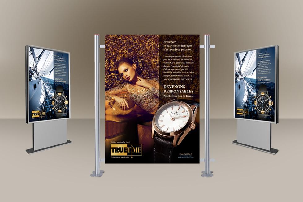 Truetime 2014 - lancement de la nouvelle campagne anti-contrefaçon