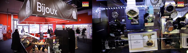 Corner montres / horlogerie magasin Easycash